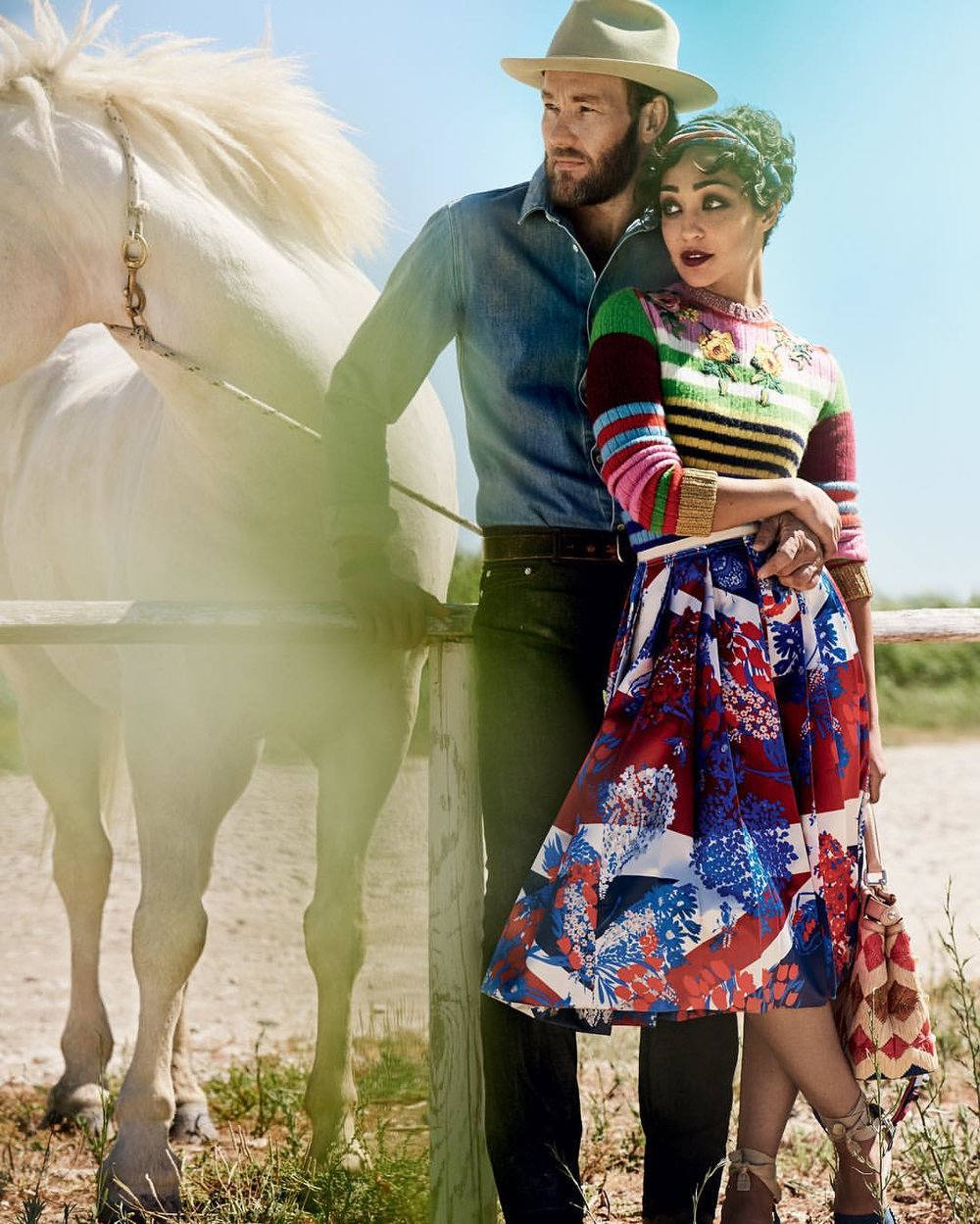 When Love is Truly Transformative: Loving v. Virginia. Can't wait to see the story of Richard and Mildred Loving by Jeff Nichols. (@voguemagazine shoot)