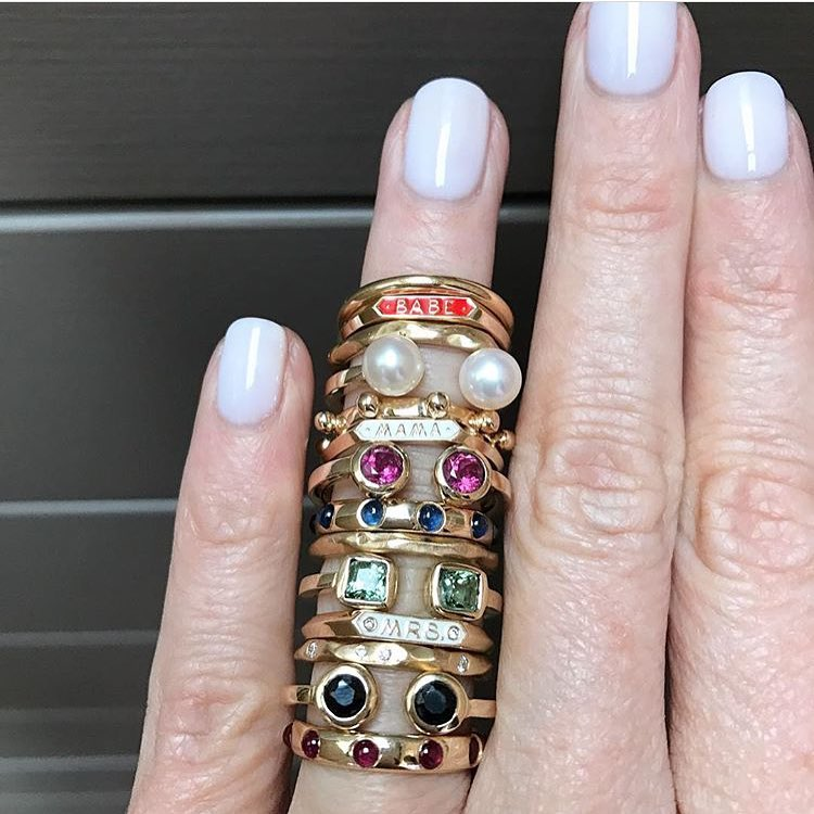 Cause We Look That Good Playing with Others. Jewelry should be another divine exercise in expressing your individuality. Always have fun with it! #Repost @jewellerydreaming ・・・ Could easily fit another 5 on this stack! #needmorerings #jewellerydreaming #lovegold #jotd #ring #gemstone #jewelleryaddict #jewellerygram #stackers #jewellerylover #stacksarethenewblack #ringsofinstagram #personalcollection #showmeyourrings #jewelleryoftheday (at Sydney, Australia)