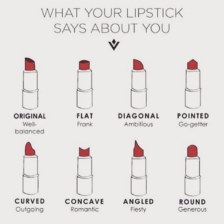 Cause it's almost Friday…I forgot where I hijacked this from but I dig it! Cheesy fun! Which is much needed now that Mercury has direct and will hopefully stop kicking my ass! What type of girl are you?!!! #lipstickdiaries #prettygirls #readmylips #stressrelief #thursdaymotivation #thursdayisthenewfriday (at New York, New York)
