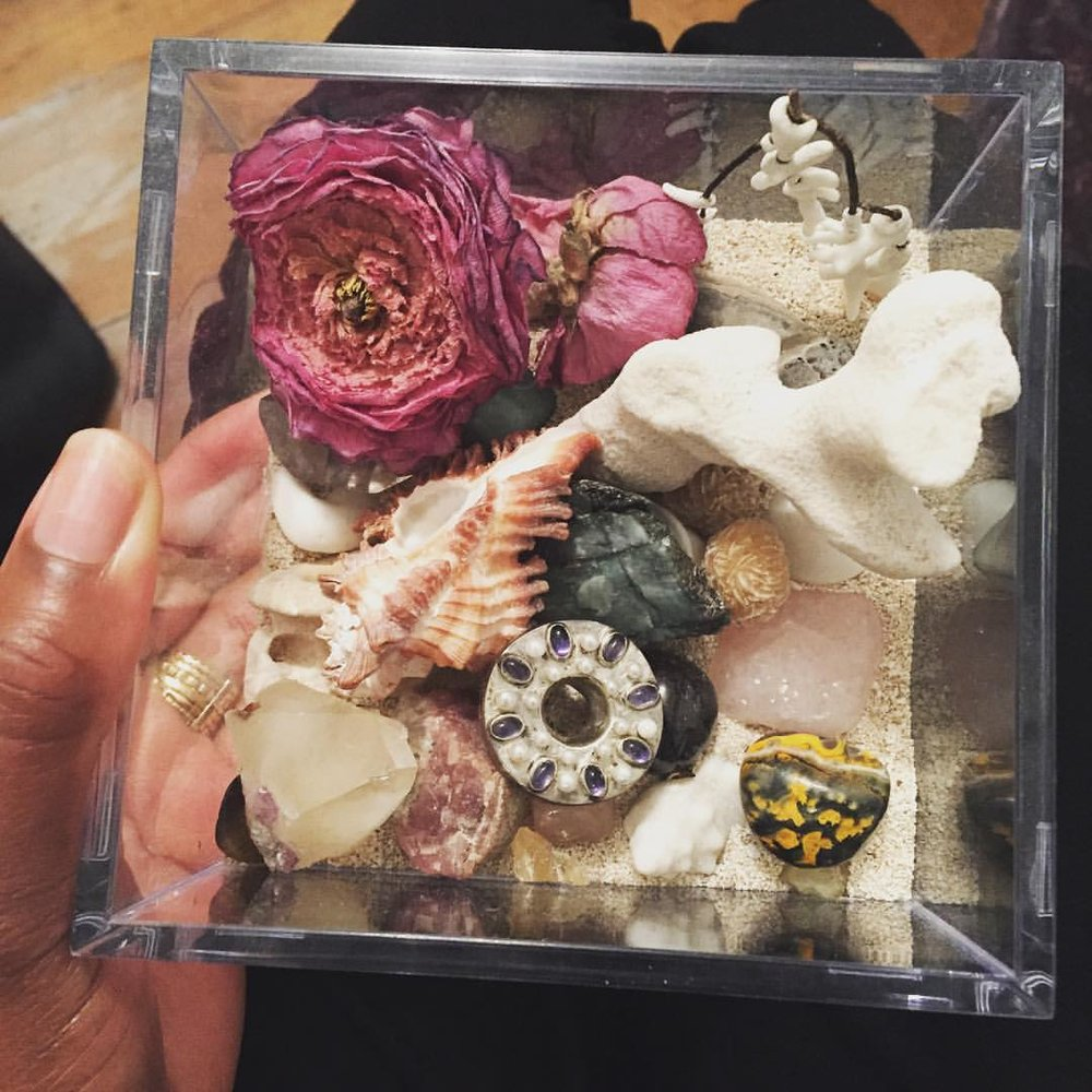 Box of Treasures. Wishing you all some sweetness this week! I'm sure we could all use it. xo (at New York, New York)