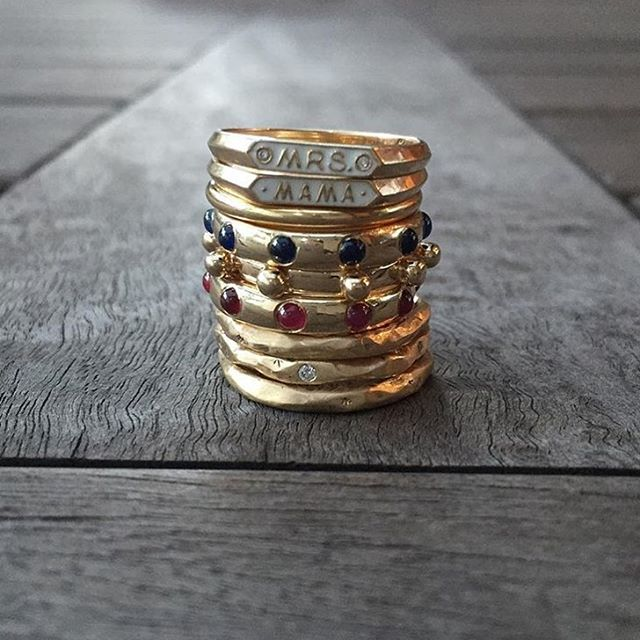We love being part of a power stack. Fall in Love with our gemstone Japa rings. I do want a @norakoganjewelry ring I have to say… Thank you @jewellerydreaming for this #superwednesday post. #Repost ・・・ Stack Em Up! 💍💍💍 #nofilter #lovegold #ringstack #jewellerydreaming #diamonds #jewellerygram #jewellerylover #jewelleryaddict #ringsofinstagram #showmeyourrings #jotd #rings #ruby #diamond #sapphire #personalcollection #stacksarethenewblack #picoftheday (at New York, New York)
