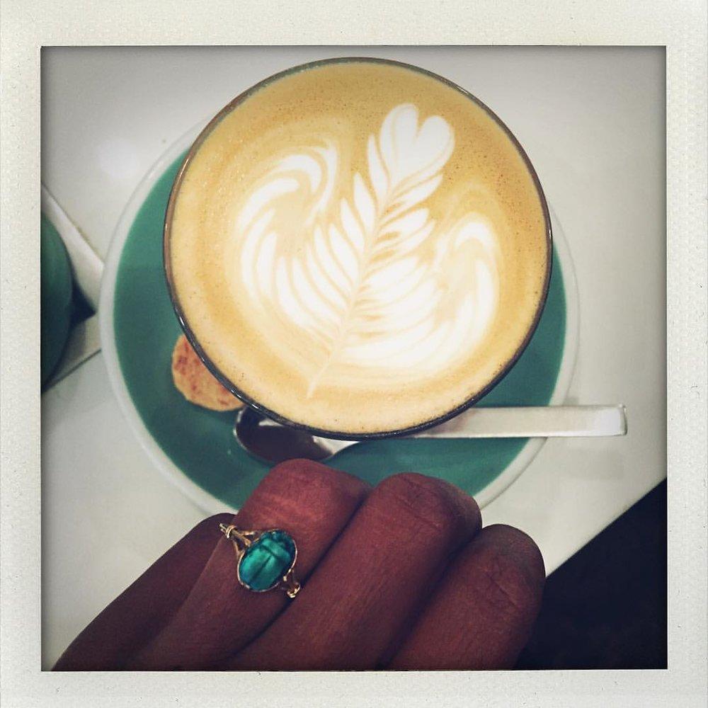 ☕️☕️☕️ #morningjoe #jewelryaddict #jewelrylover (at New York, New York)