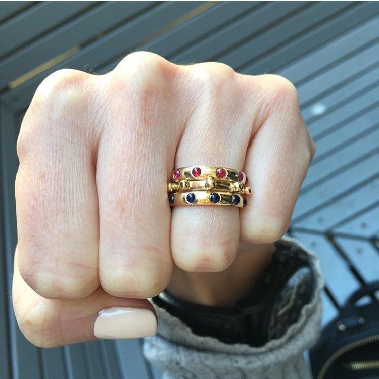 Coming at Wednesday like 👊🏾👊🏾👊🏾. (Image: @jewellerydreaming) #wednesdayvibes #stacksarethenewblack #japarings #charltonandlola #jotd #jewelrygram #jewelryaddict #jewelryaddiction #jewelrylover #shopitnow #lovegoldlive (at New York, New York)