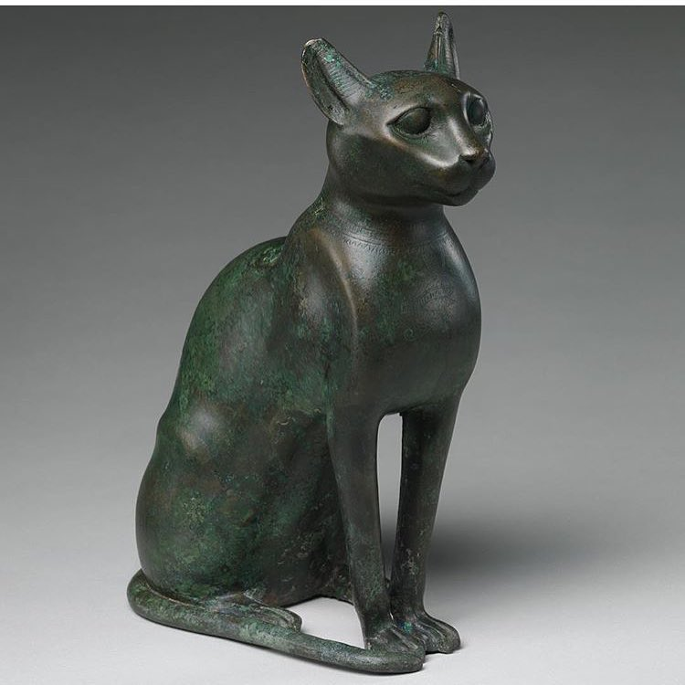 Oh my goodness! And it's like Cat Day! I've had two marvelous felines in my life and I still miss them terribly. #Repost @metmuseum ・・・ It's #InternationalCatDay! Our collection is the purr-fection resource for cat lovers! Cat Statuette intended to contain a mummified cat, 332–30 B.C. Ptolemaic Period. From Egypt. #TheMet #EgyptianArt #CatDay #MeowMet #catlady #Bast #egypt #history #felines #independant #independentwoman #mystic #dreamers #elegance #newyorkcity #knowledge #goddess (at New York, New York)