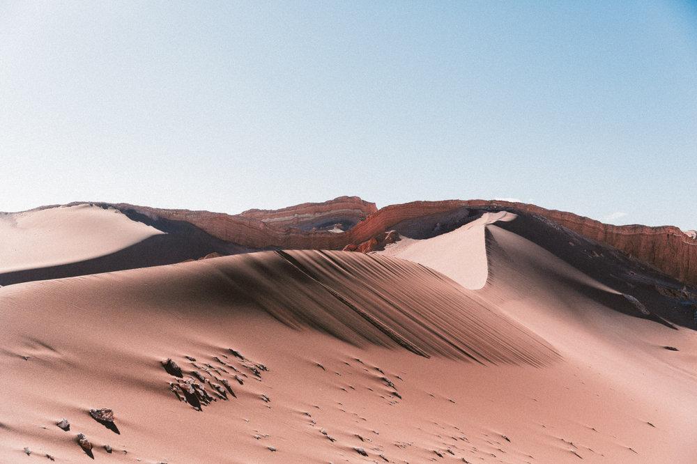 dusttildawnjournal: Dune. San Pedro de Atacama, Chile. Dec 2015. Travel More.
