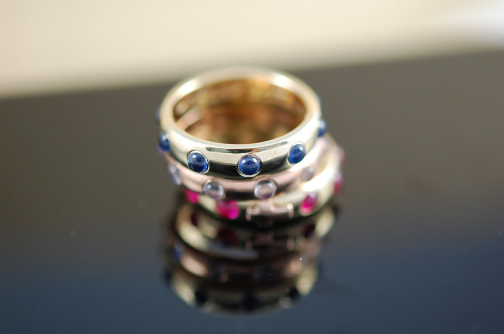 What could be more All American than our gemstone rings?http://bit.ly/1SozSec