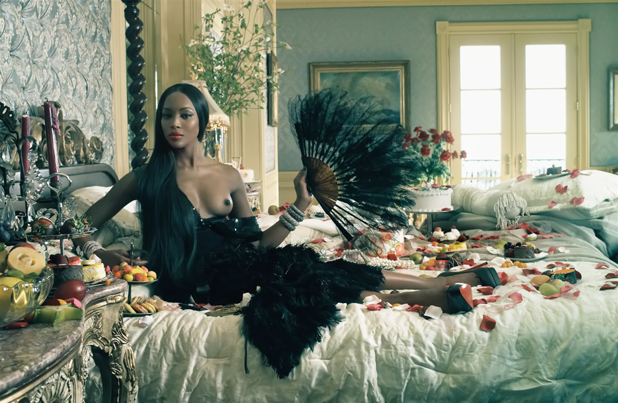 steven-meisel: there's only one naomi Naomi Campbell. The Black Issue. Legendary. Vogue Italia.
