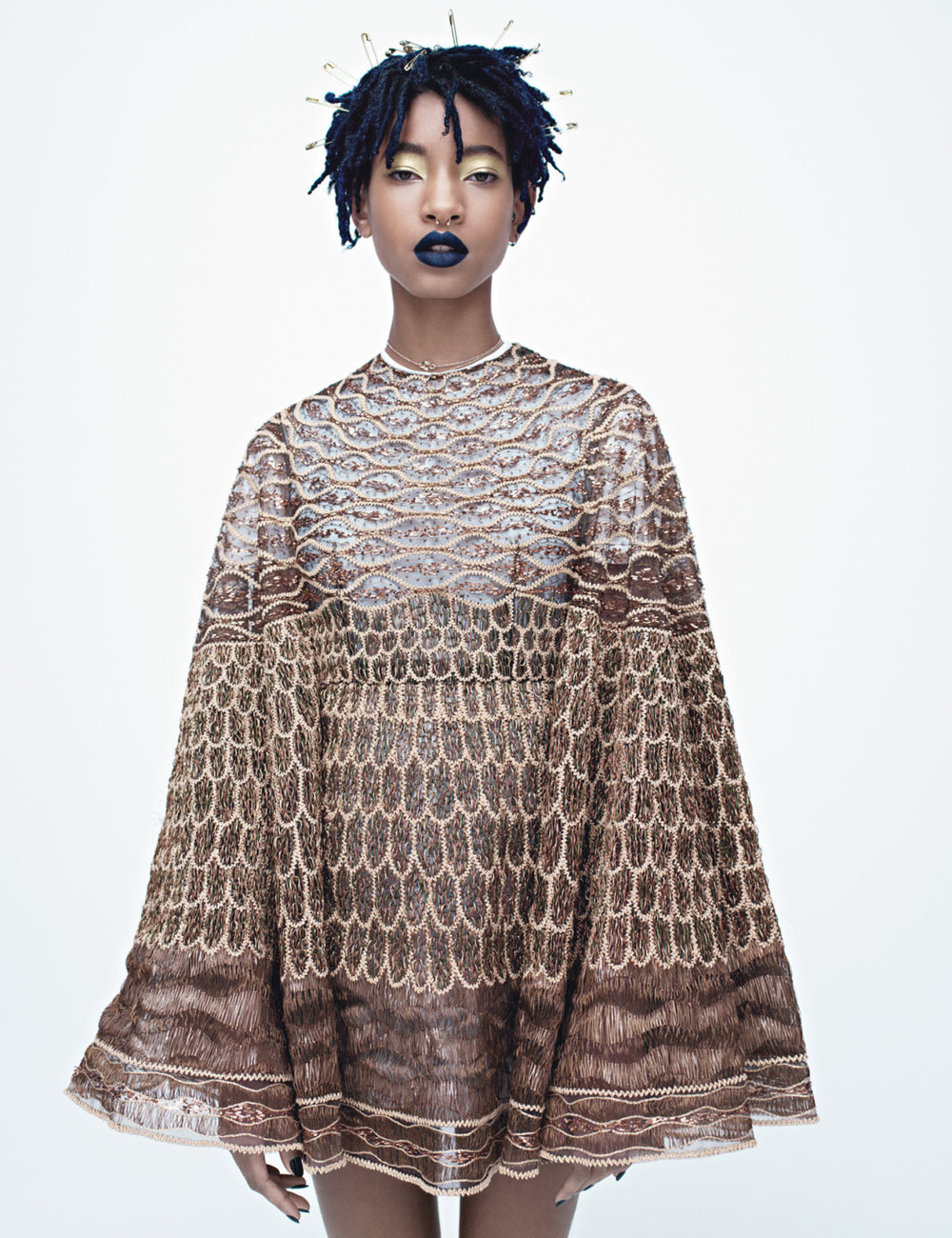 wmagazine: Willow Smith Is Next, Next, Next! Willow Smith photographed by Willy Vanderperre, styled by Paul Cavaco; W Magazine April 2016. Stunning.