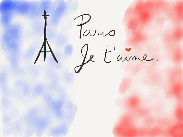 """Louis Armstrong's """"La Vie en Rose"""" just came on. #parissansfin #prayersforparis"""