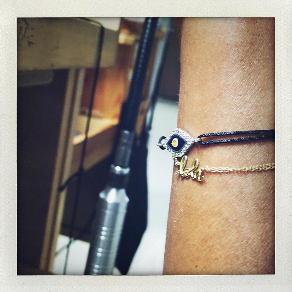 """lola"" #atwork (at The Benlolo Jewelry Studio)"