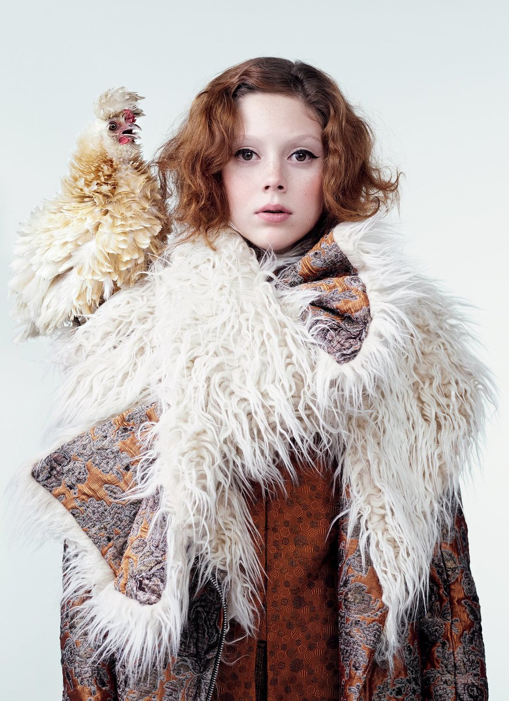 """vogue: This gives entirely new meaning to the term """"chick magnet."""" Here, see this season's chicest fall coats and accessories. Yes to all this!"""