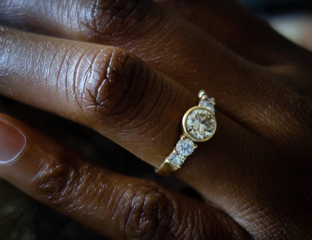 Dream State. European Cut Diamond. Made by hand. (at New York, New York)