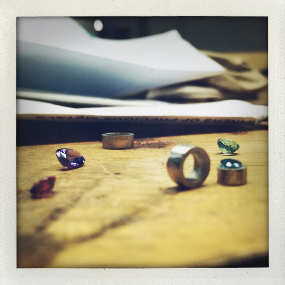 The Little Things. The Sweet Things. Gemstones & Platinum. (at New York, New York)