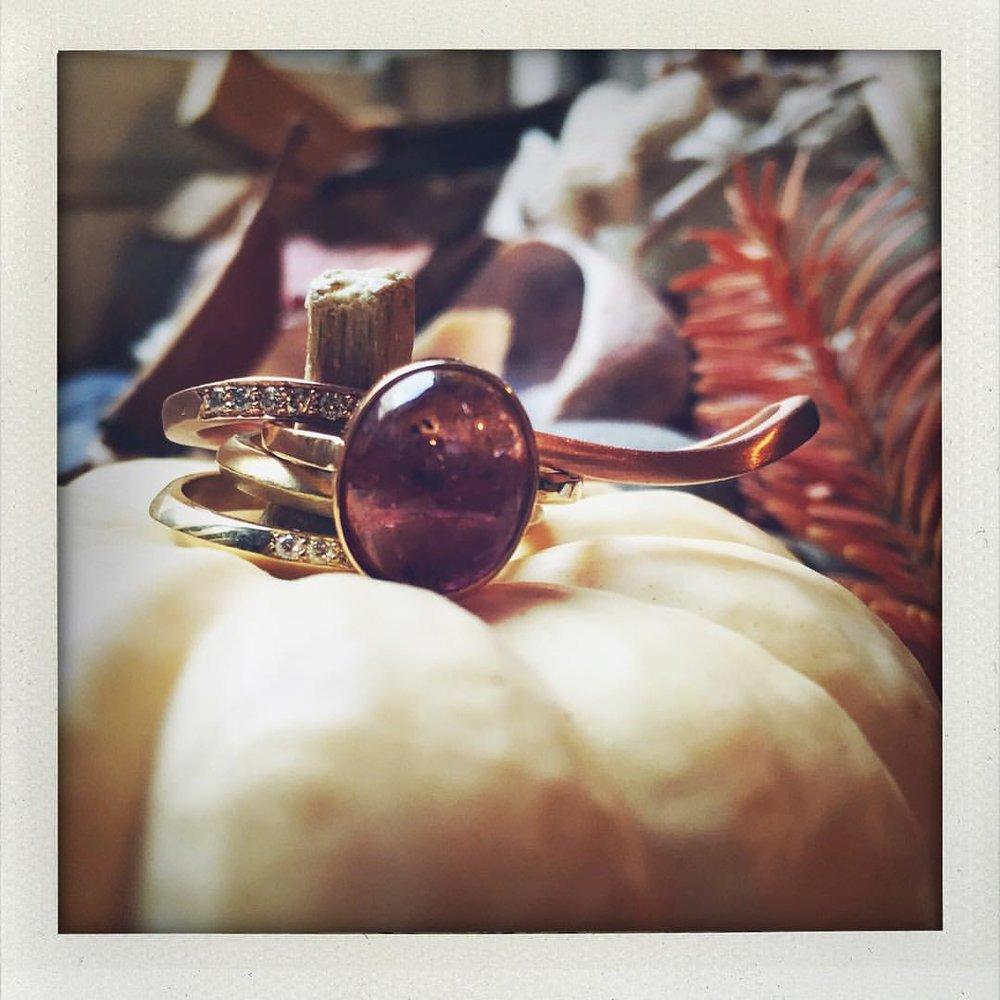 Playing with light, shapes and pumpkins. #happyfriday @charltonandlola (at New York, New York)