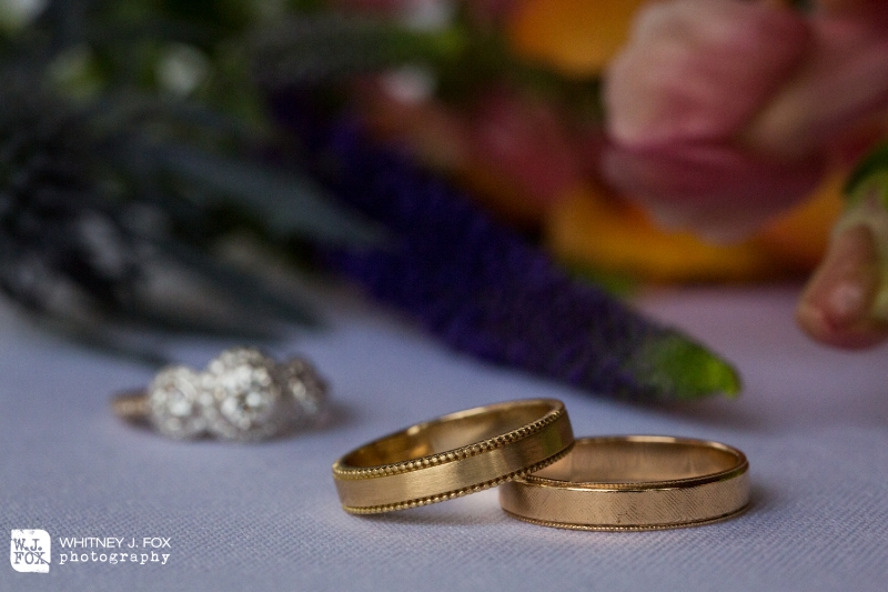 Heather's Antique Inspired Wedding Band (Photography: Whitney J. Fox Photography)