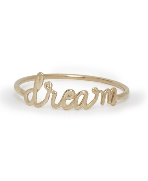 Our Gold Dream Rings