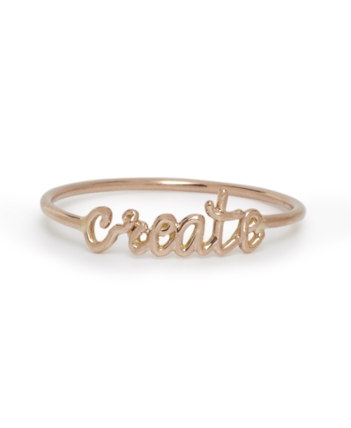 Our Gold Create Rings
