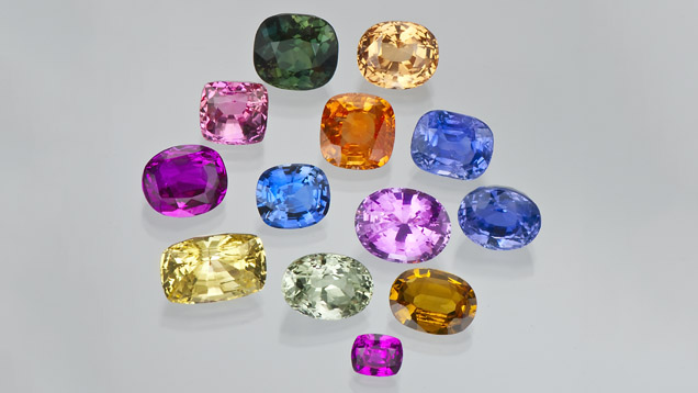 Stones courtesy of GIA. Sapphires are available in all sizes, shapes, and colors. Learn more at GIA.edu
