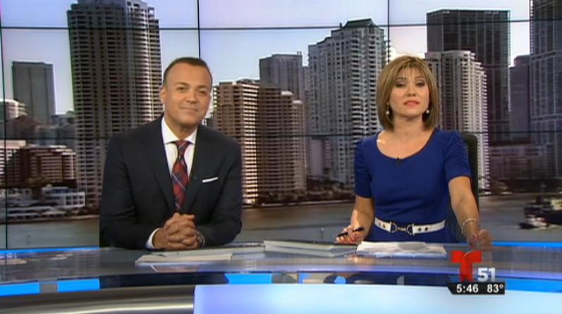 Telemundo 51 News Segment