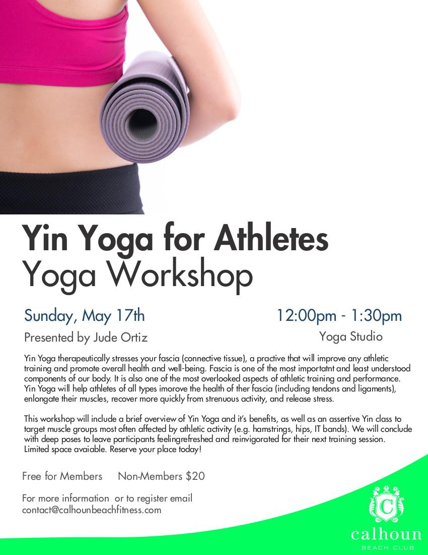 Yin Yoga for Athletes — Full Circle Asana