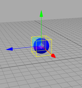 Cube object in three.js design tools