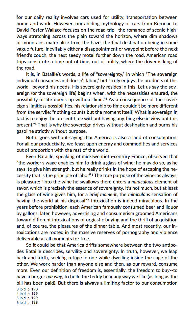 Paul Cockeram & Iván Castañeda, Riding the Mole: Bataille the Sovereign