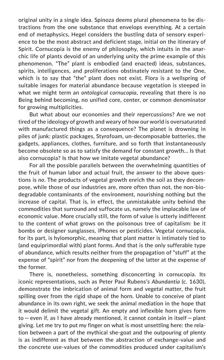 """Michael Marder """"Cornucopia"""" page 2"""