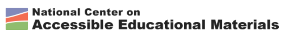 Image of National Center on Accessible Educational Materials Logo