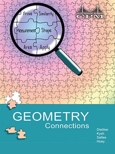 Gc resources cpm educational program geometry connections book cover fandeluxe Choice Image