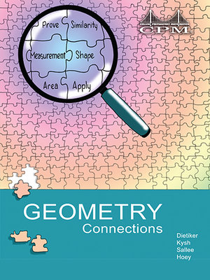 Gc resources cpm educational program geometry connections book cover fandeluxe Gallery