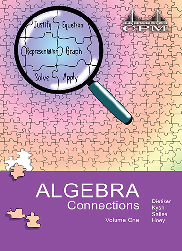 Algebra Connections Book Cover