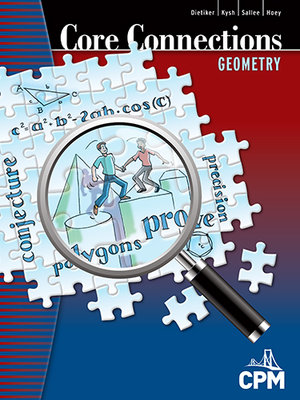 Ccg resources cpm educational program core connections geometry book cover fandeluxe Images