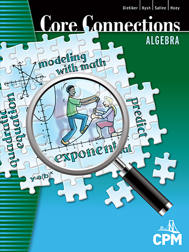 Core Connections Algebra Book Cover