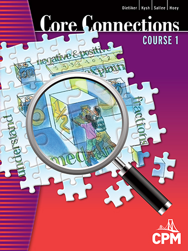 Core Connections, Course 1 Book Cover