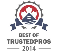 Tile by Style was awarded Best of TrustedPros in 2014 for Bathroom Renovations and TIling in Calgary