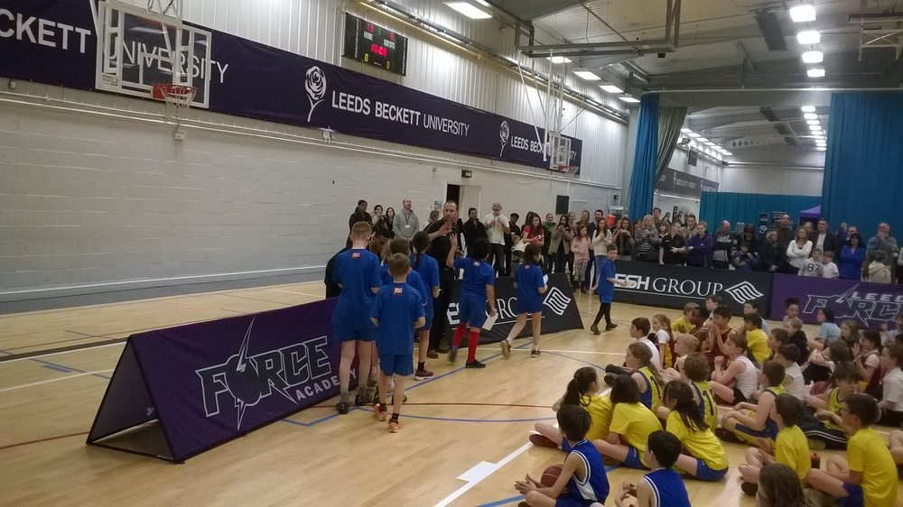 Leeds North West Basketball Y4 5 Finals 2014-15 2nd place Adel