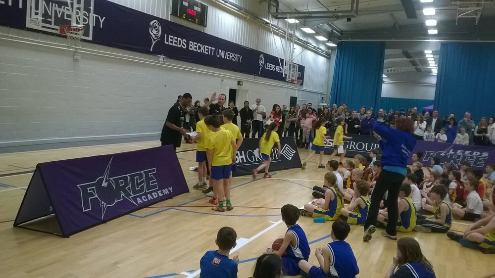 Leeds North West Basketball Y4 5 Finals 2014-15 3rd Place - St Margaret's