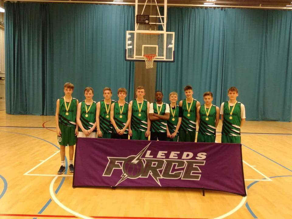 Horsforth U16s 1st Place Jan 2017