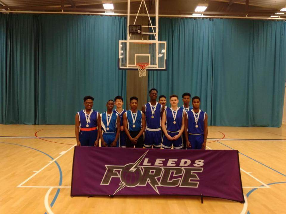 Abbey Grange U16s 2nd Place Jan 17