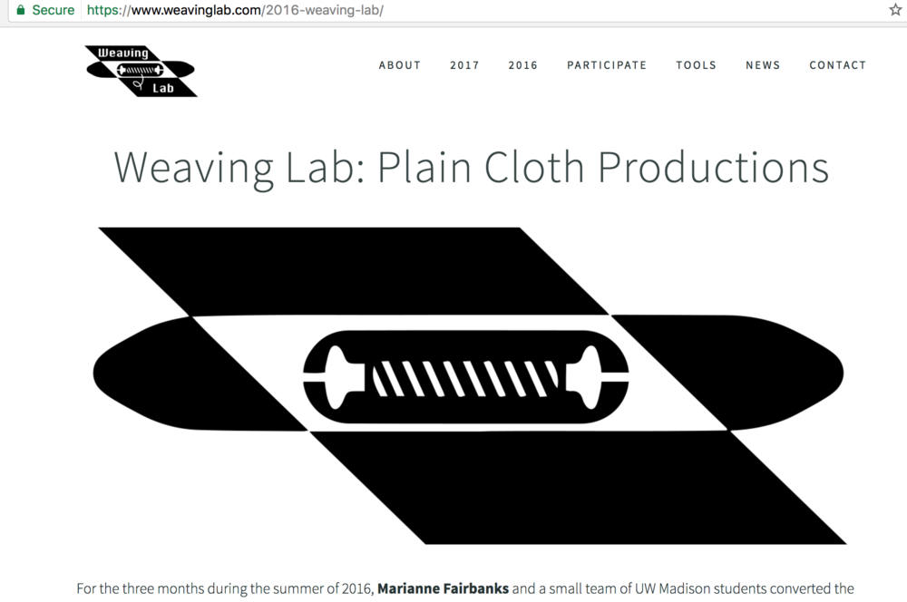 weavinglab.com - We have a new website!! Please come check it our to see all of our new Weaving Lab discoveries!