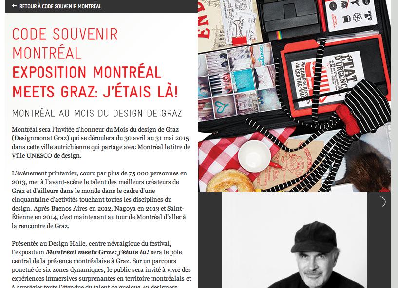 Design Montréal [avril 2015]