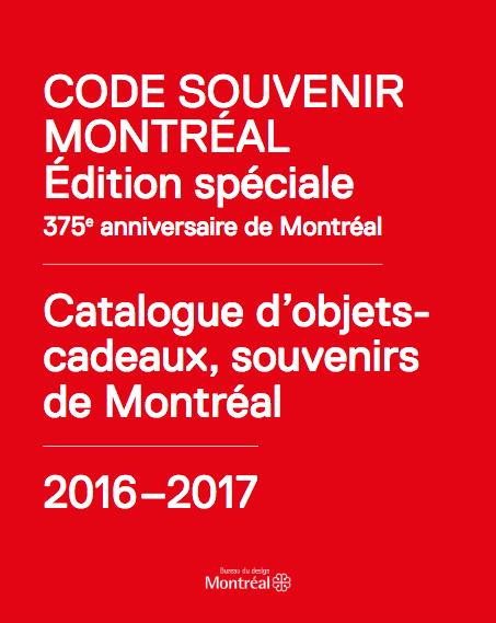Designer sélectionné par le bureau du design de la Ville de Montréal ! -