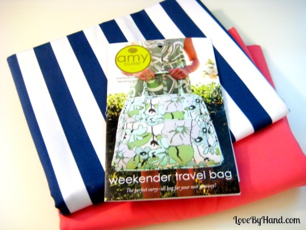 weekender sew along supplies