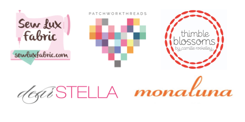 weekender sew along prize sponsors