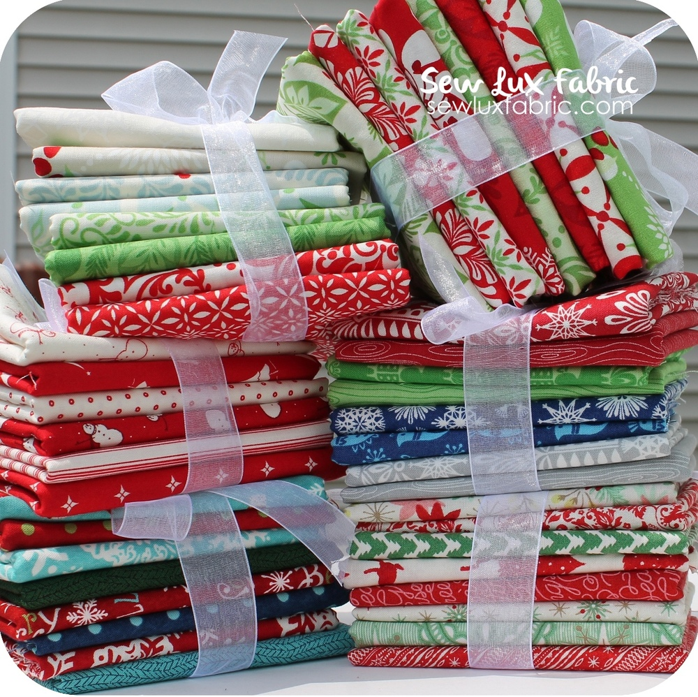 Christmas In July Sew Lux Fabric Bundles