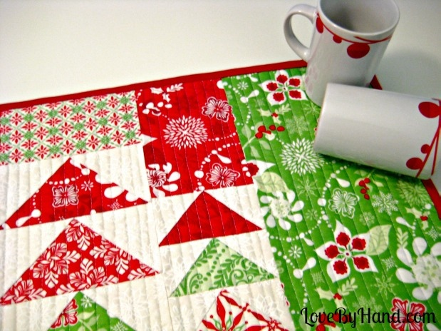 christmas placemats sewing tutorial