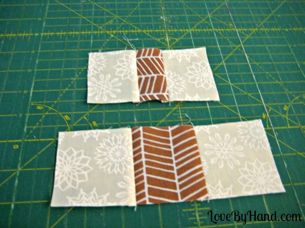 christmas tree placemat tutorial