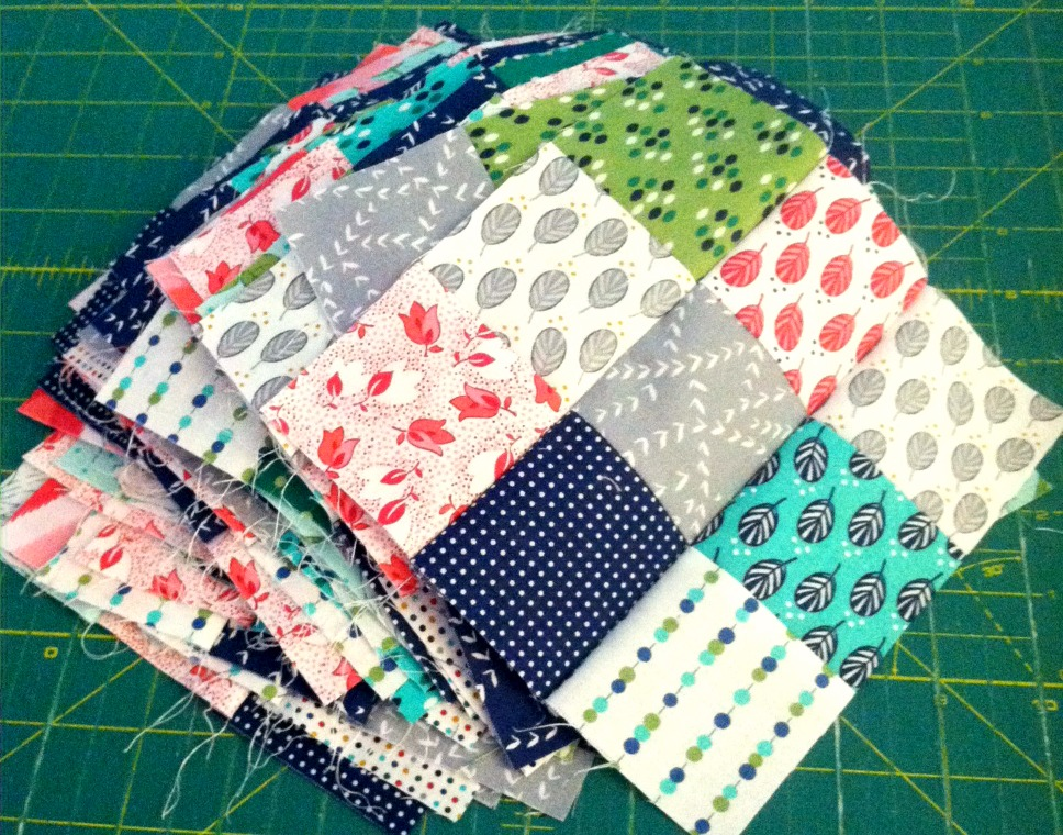 lucky stars quilt nine patch blocks