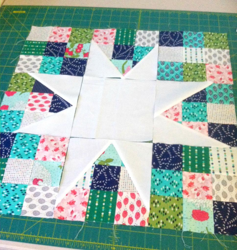 lucky stars quilt block
