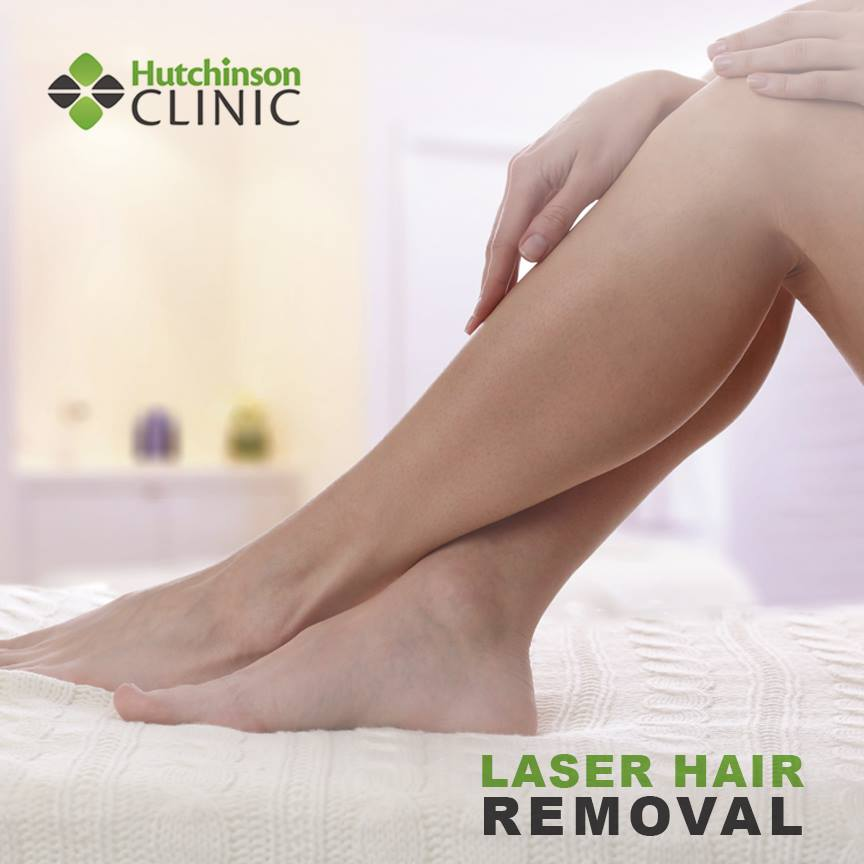 Go razor-less with Hutchinson Clinic's Cosmetic service, Laser Hair Removal! Call (620) 694-4286 to schedule a consultation or for more information.